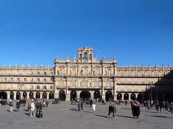Visita a Salamanca - Plaza Mayor