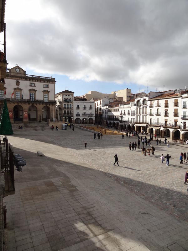 Visita a Cáceres - Plaza Mayor
