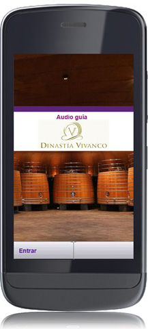 Audio guide player AG85 - welcome