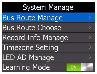 GPS Audioguide for tour trains and buses – Loading screen and route selection