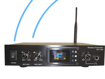 conference system WT1600 - simultaneous translation services